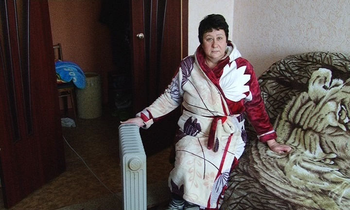 Когда на улице было -35 градусов, в квартире Ольги Челышевой температура опустилась до +8