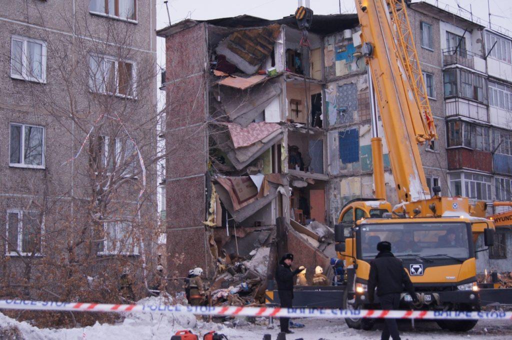 Квартира Андроповых находилась на третьем этаже обрушившегося дома